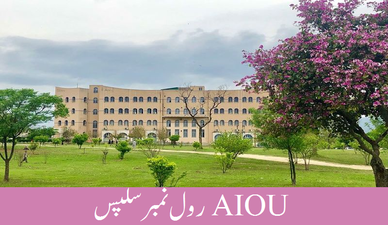 AIOU roll number sips